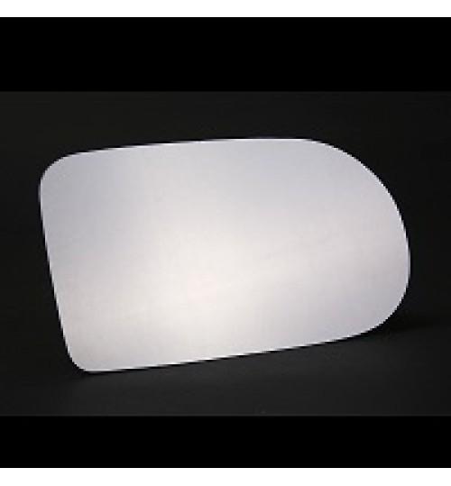 Driver Side PEPartner 1996 to 2008 Silver Wing Mirror Glass RH