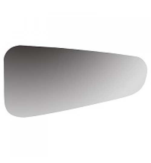 For Seat Leon 09-12 Right Driver side wing mirror glass with plate