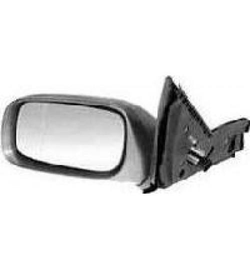 Peugeot Partner 96-08 electric black passenger wing mirror complete